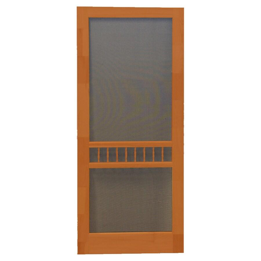 Screen Tight Arbor RedWood Screen Door (Common: 36-in x 80-in; Actual: 36-in x 80-in)