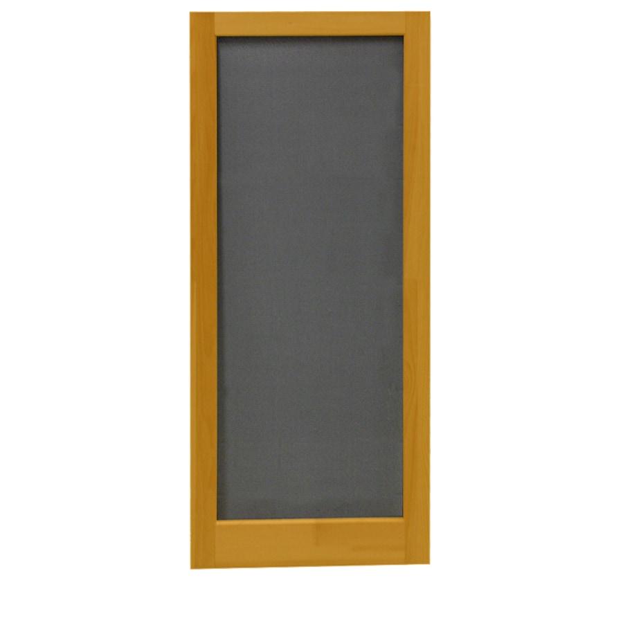 Screen Tight Meadow Cedar Naturaltone Wood Screen Door (Common: 32-in x 80-in; Actual: 32-in x 80-in)