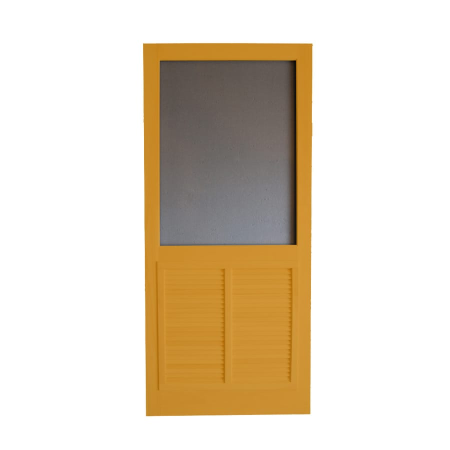 Screen Tight Ponderosa Cedar Naturaltone Wood Screen Door (Common: 36-in x 80-in; Actual: 36-in x 80-in)