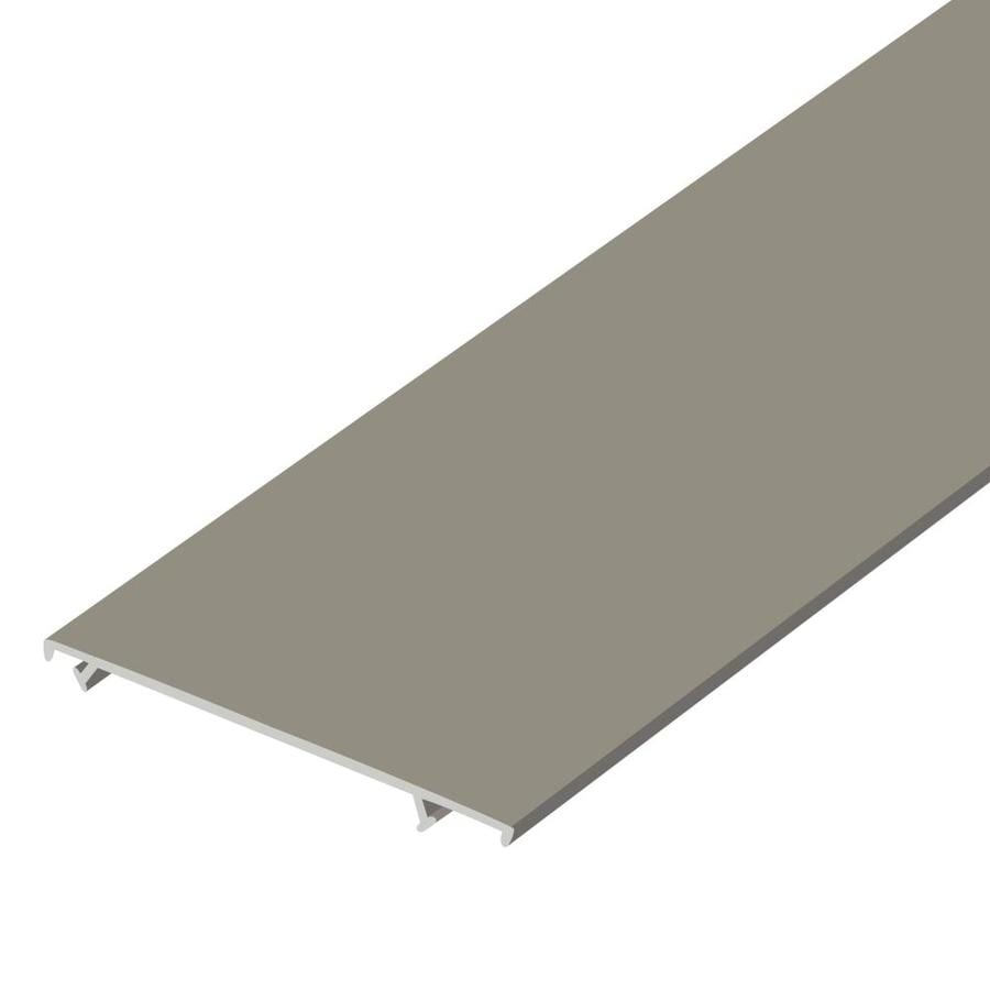 Screen Tight 3.5-in x 120-in Plastic Screen Door and Storm Strike Plate