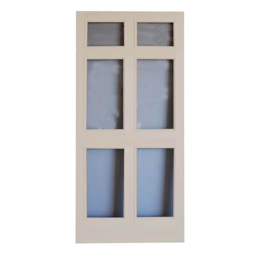 Shop Screen Tight Regal Fixed Full View Glass Storm Door Common 36