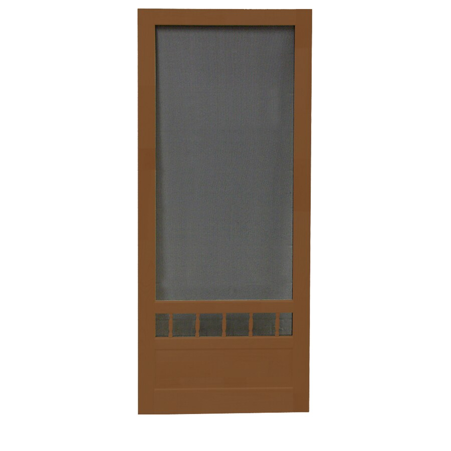 Screen Tight Wood Screen Door (Common: 36-in x 80-in; Actual: 36-in x 80-in)