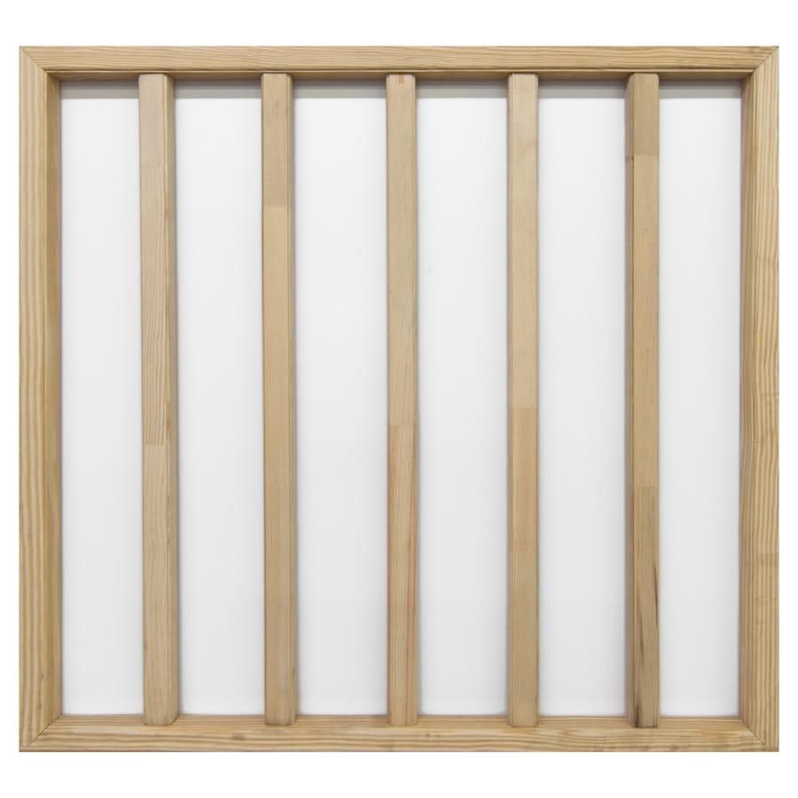 Screen Tight 5-Bar 25.875-in W x 29.375-in H Wood Screen Door Insert