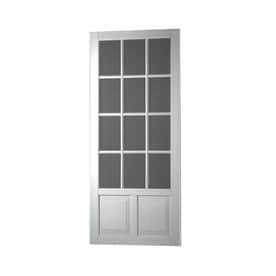White Screen Doors shop screen doors at lowes