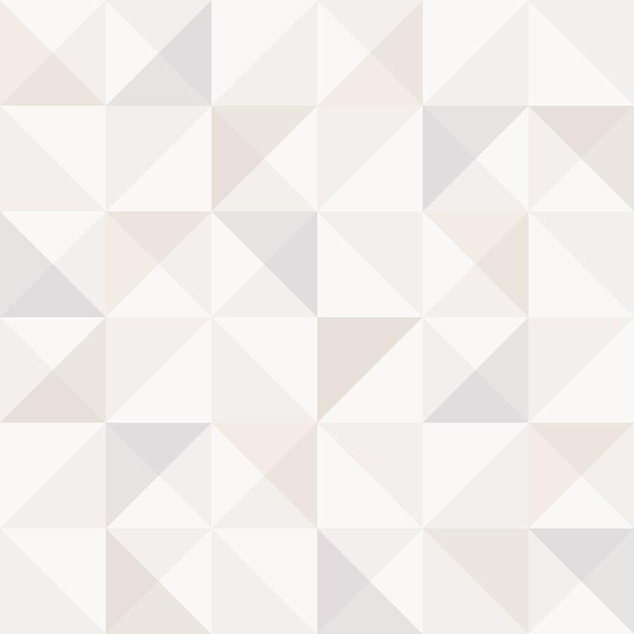 Brewster Wallcovering Wall Vision Cream Non-Woven Geometric Wallpaper