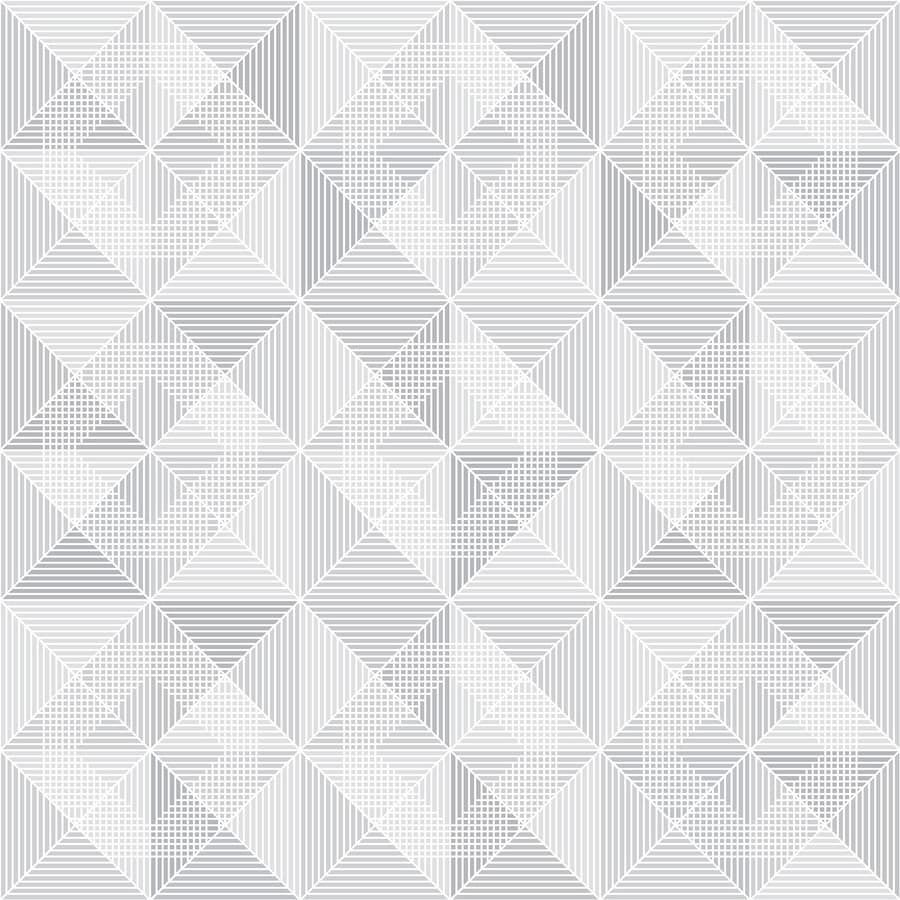 Brewster Wallcovering Wall Vision Neutral Non-Woven Geometric Wallpaper