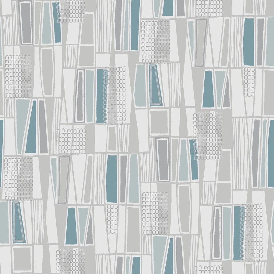 Brewster Wallcovering Wall Vision Charcoal Non-Woven Floral Wallpaper