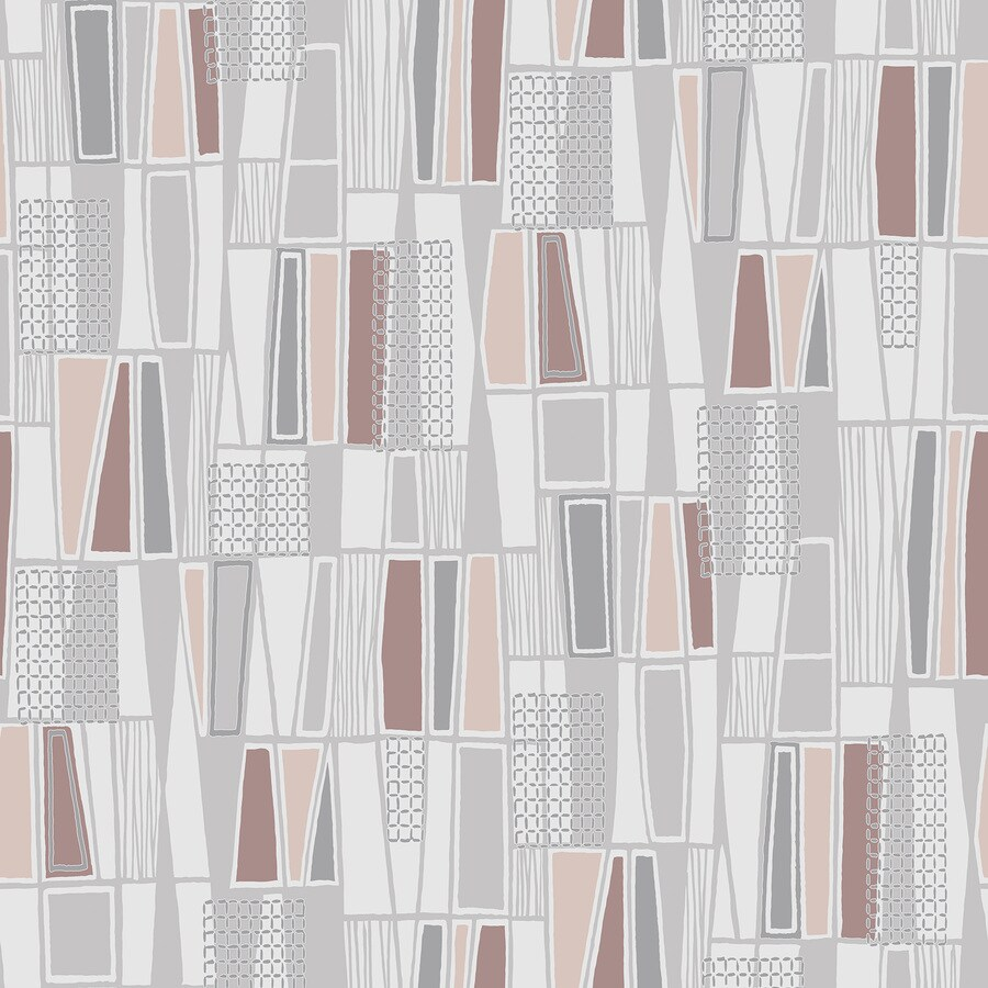 Brewster Wallcovering Wall Vision Beige Non-Woven Floral Wallpaper