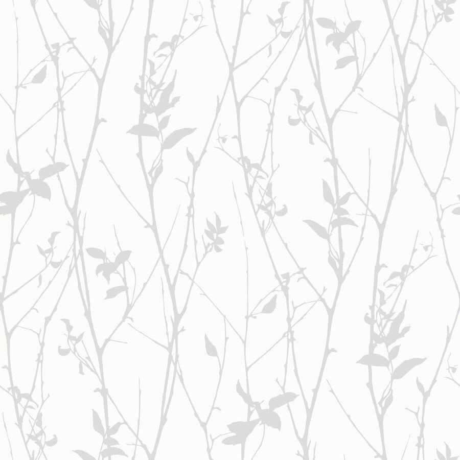 Brewster Wallcovering Wall Vision Grey Non-Woven Plaid Wallpaper