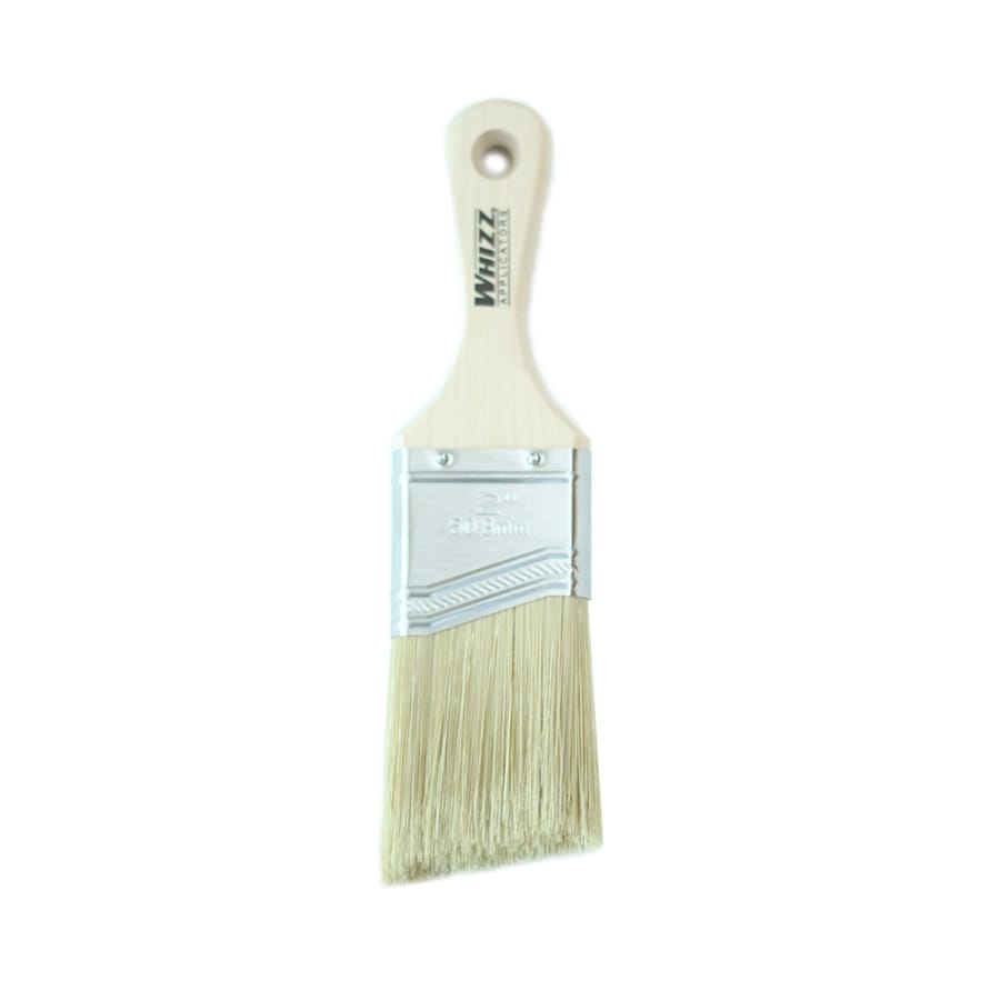 WHIZZ Natural Bristle - Polyester Blend Angle Sash Paint Brush (Common: 2-in; Actual: 2.041-in)