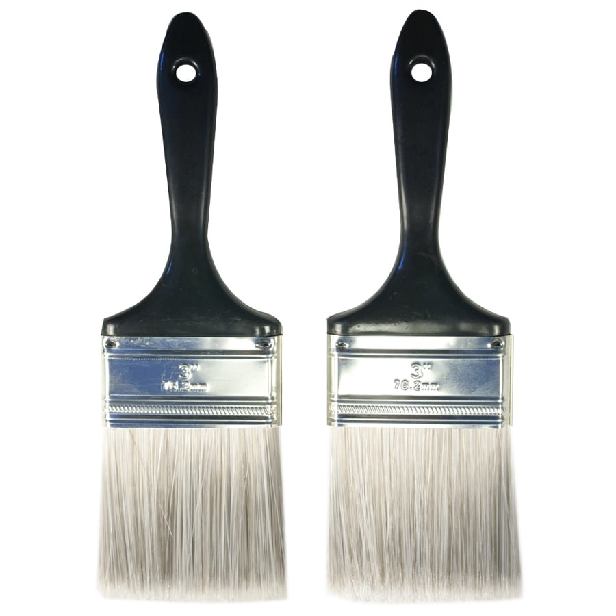 Shop Project Source 2-Pack Polyester Wall Paint Brushes ...