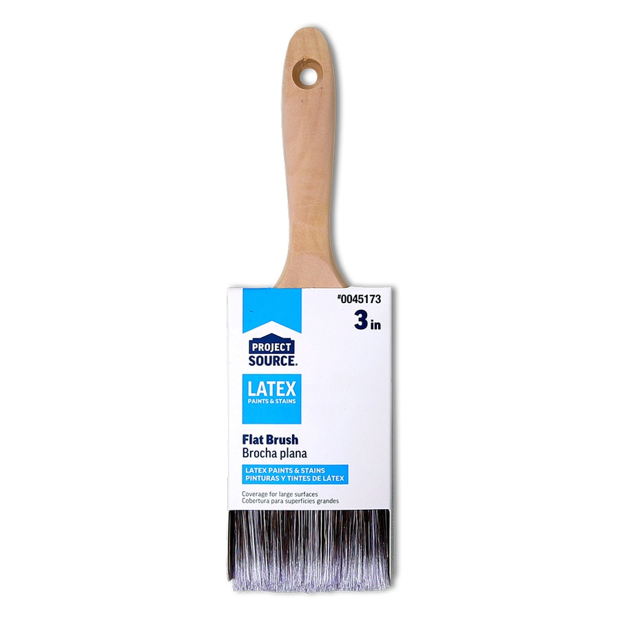 Blue Hawk Polyester Wall Paint Brush (Common: 3-in; Actual: 3.025-in)