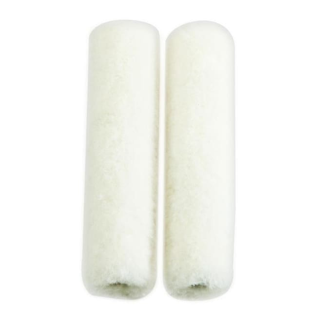 Whizz Bath And Kitchen 2 Pack 4 In X 1 4 In Mini Woven Velour Paint Roller Cover In The Paint Roller Covers Department At Lowes Com