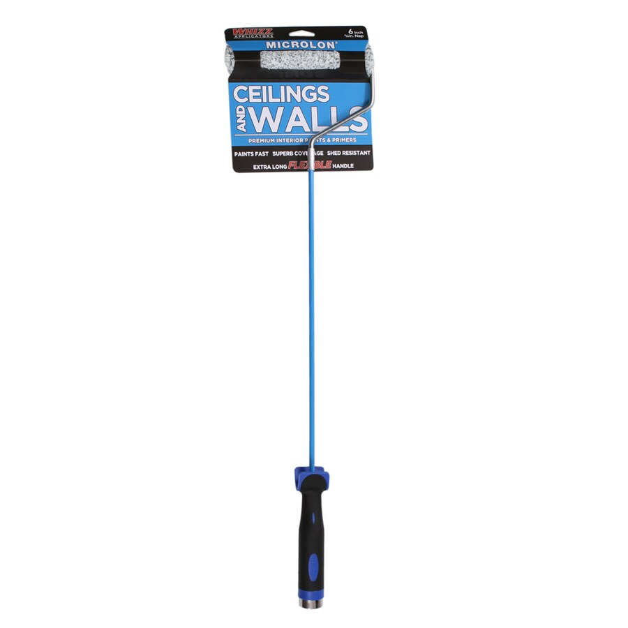 WHIZZ MICROLON Walls and Ceilings Microfiber Blend Mini Paint Roller (Common: 6-in; Actual: 6-in)