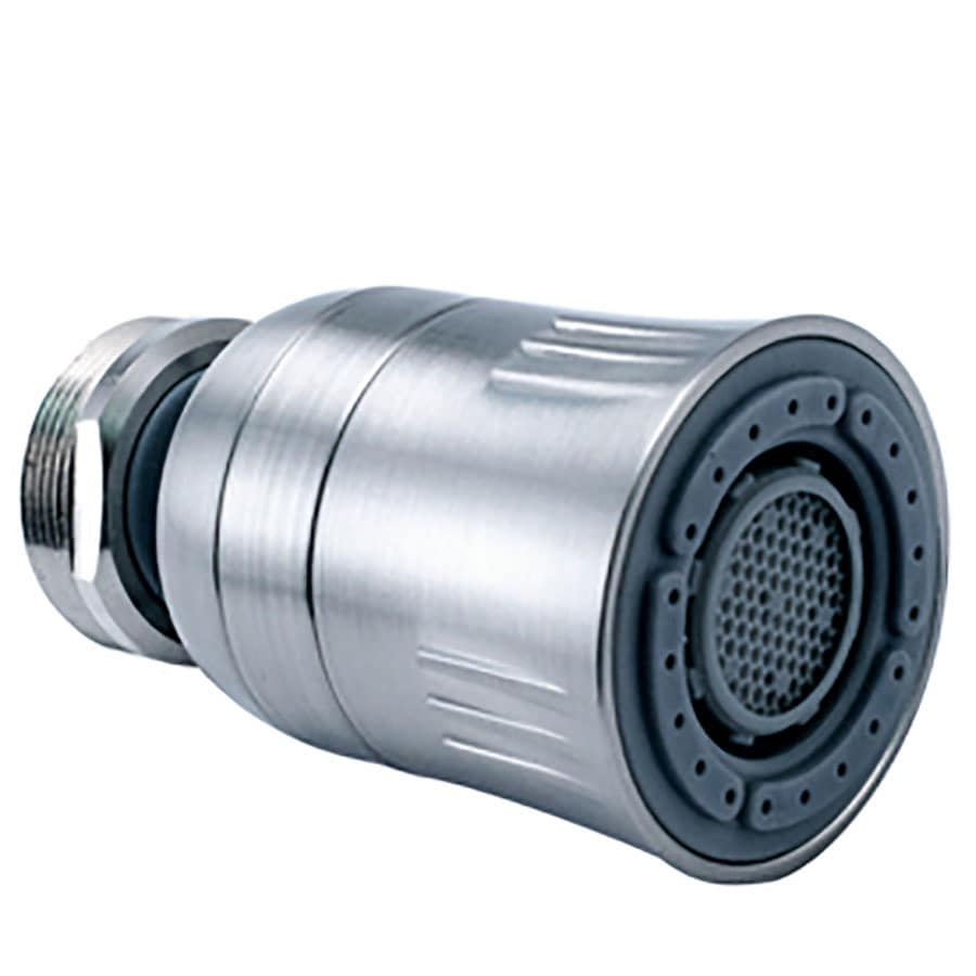 Niagara Conservation 15/16-in x 27-in Male or 55/64-in x 27-in Female Nickel Swivel Spray Aerator
