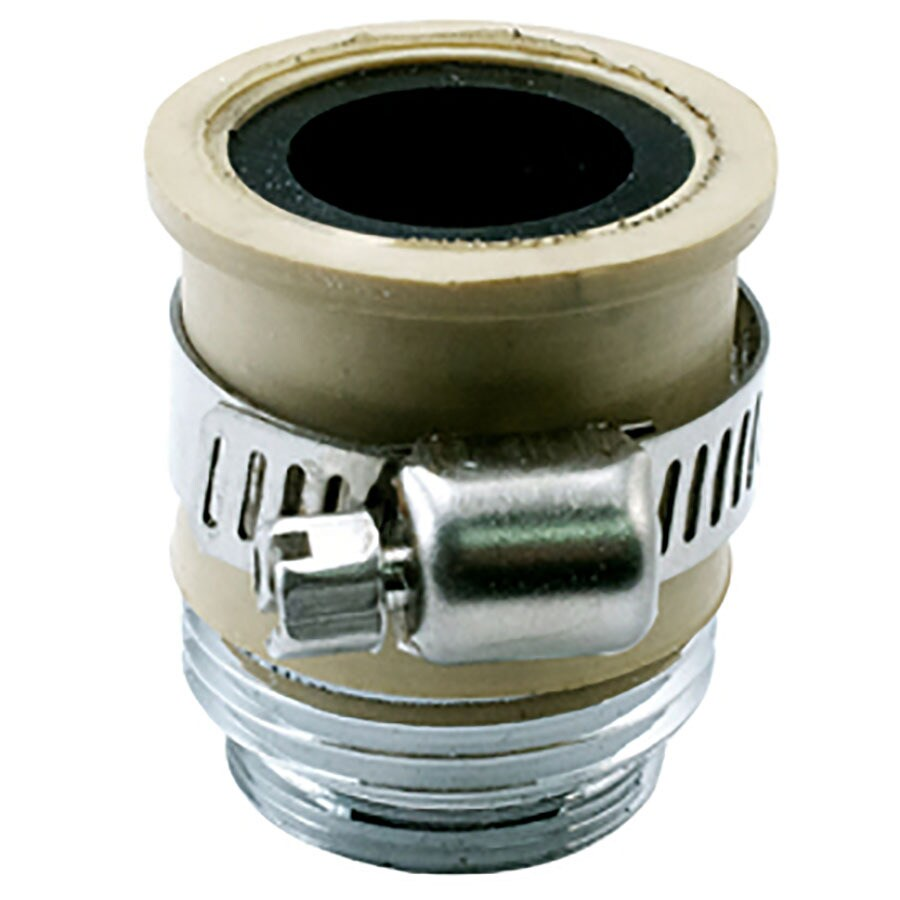 Niagara Conservation Slip On with Clamp x 55/64-in x 27 or 3/4-In Ghtm Chrome Standard Adapter
