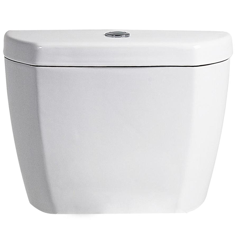 Niagara Conservation Stealth White 0.8-GPF Single-Flush High-Efficiency Toilet Tank