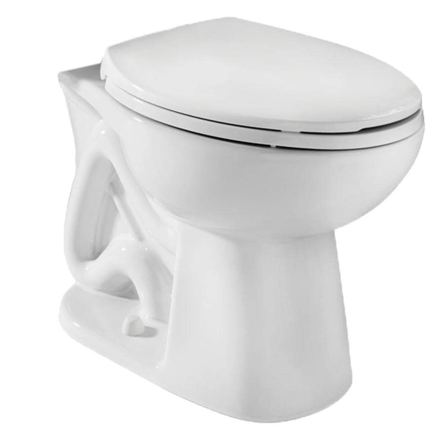 Niagara Conservation Stealth Standard Height White 12-in Rough-In Round Toilet Bowl