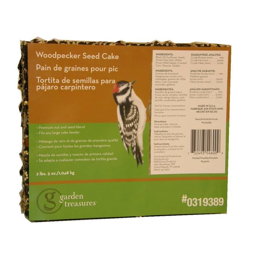 Garden Treasures Woodpecker Cake