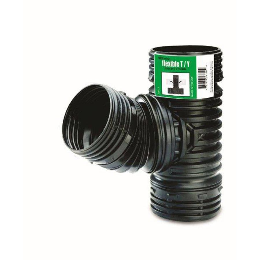 FLEX-Drain 4-Pack 4-in Dia 45-Degree Corrugated Tee Fittings