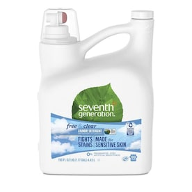 Seventh Generation 150-oz Free and Clear HE Laundry Detergent