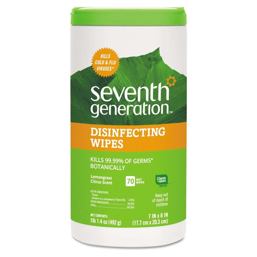 Seventh Generation 70-Count Lemongrass Citrus All-Purpose Cleaner