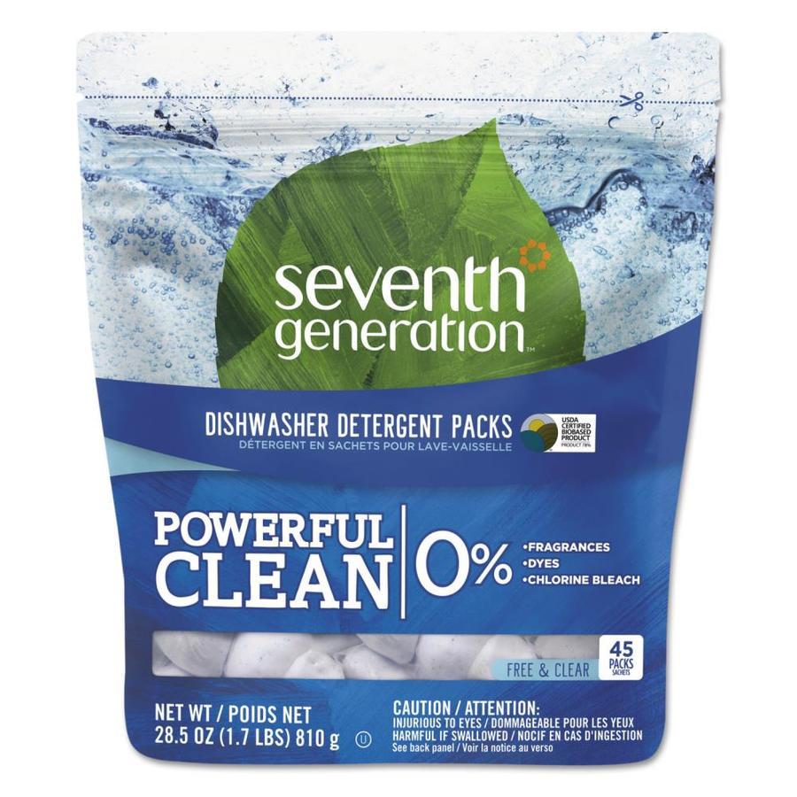 Seventh Generation Natural 45-Count Unscented Dishwasher Detergent