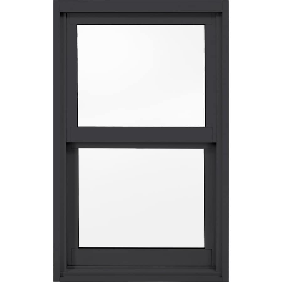 JELD-WEN 8100 Series Vinyl Double Pane Double Strength Replacement Single Hung Window (Rough Opening: 25.75-in x 37.625-in; Actual: 25.25-in x 37.125-in)