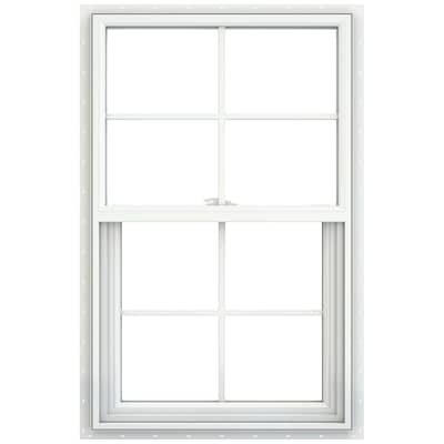 Jeld Wen V2500 Vinyl New Construction White Exterior Single