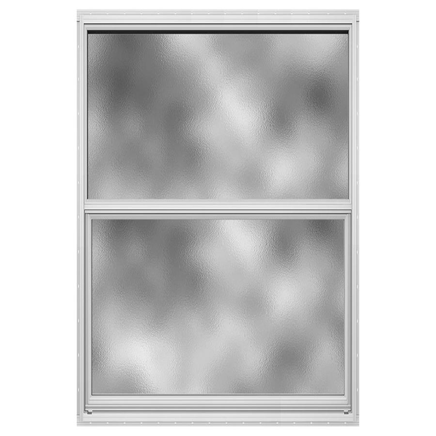 JELD-WEN Builders Florida Aluminum Single Pane Double Strength New Construction Single Hung Window (Rough Opening: 26-in x 37.875-in; Actual: 25.5-in x 37.375-in)