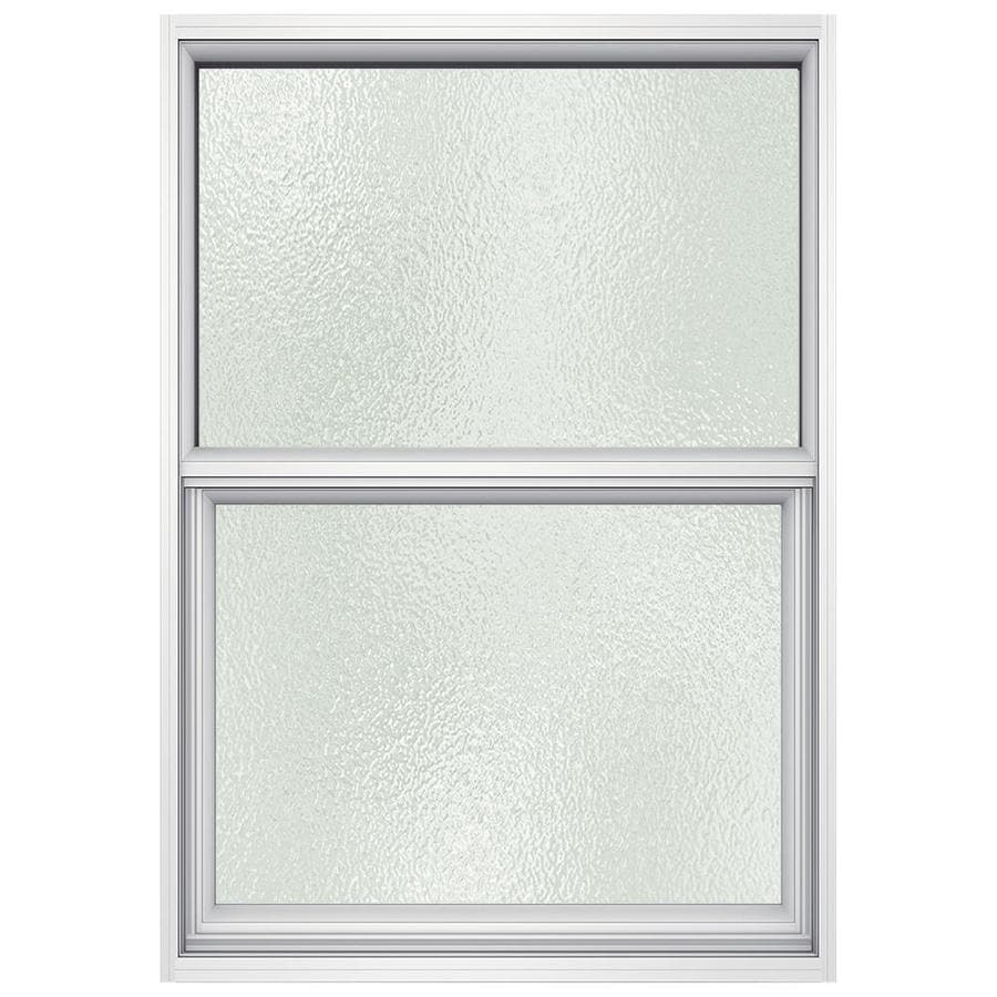 JELD-WEN Premium Atlantic Aluminum Aluminum Single Pane Impact New Construction Single Hung Window (Rough Opening: 26-in x 37.875-in; Actual: 25.5-in x 37.375-in)