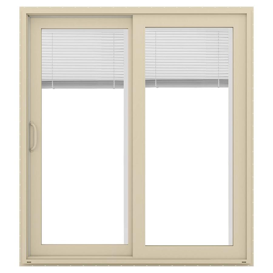 Jeld Wen 71 5 In X 79 Blinds Between The Glass Left