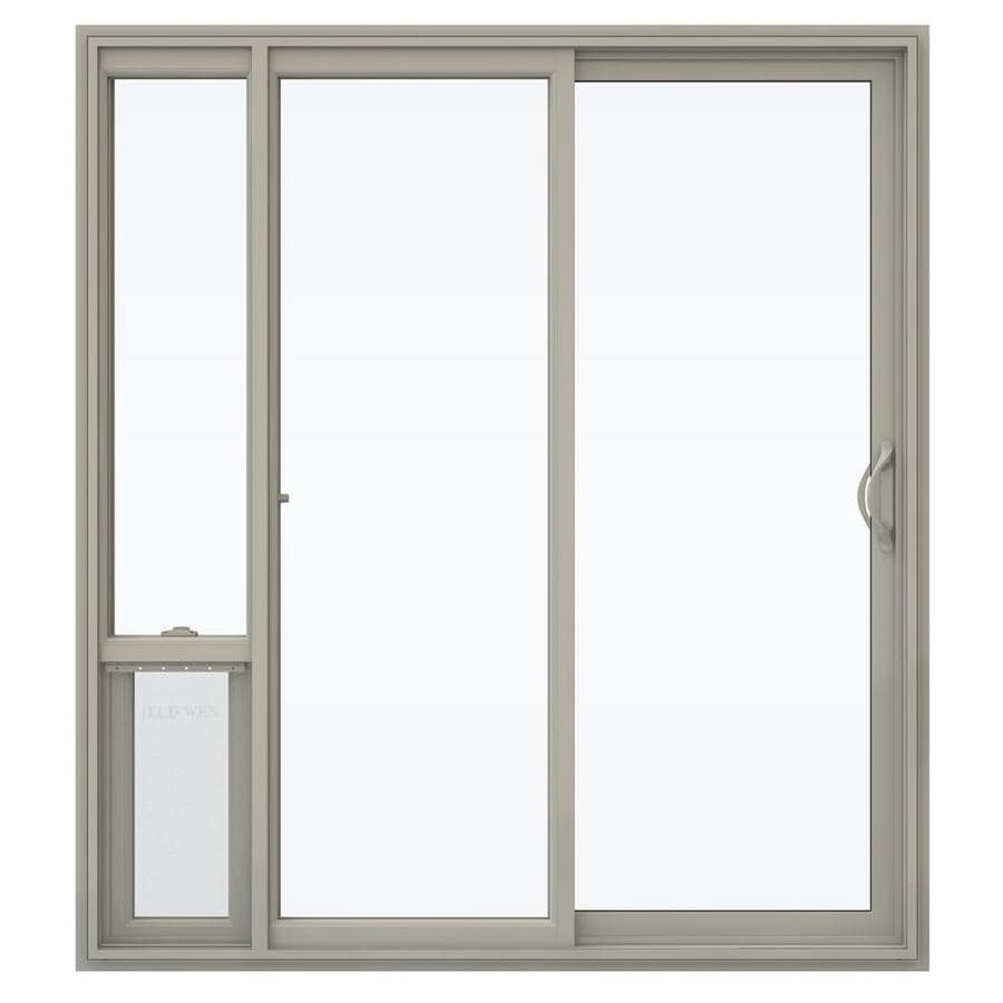 shop jeld wen v 2500 71 5 in 1 lite glass desert sand