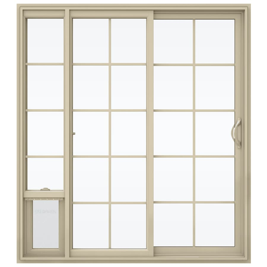 Shop Jeld Wen 715 In X 795 In Grilles Between The Glass Right Hand