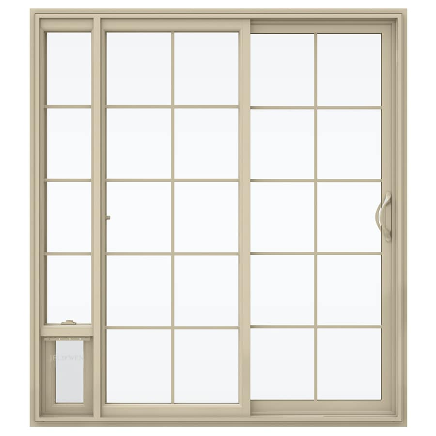 Shop Jeld Wen 71 5 In X 79 5 In Grilles Between The Glass