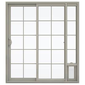 Shop patio doors at lowes jeld wen 715 in x 795 in grilles between the glass left planetlyrics Choice Image