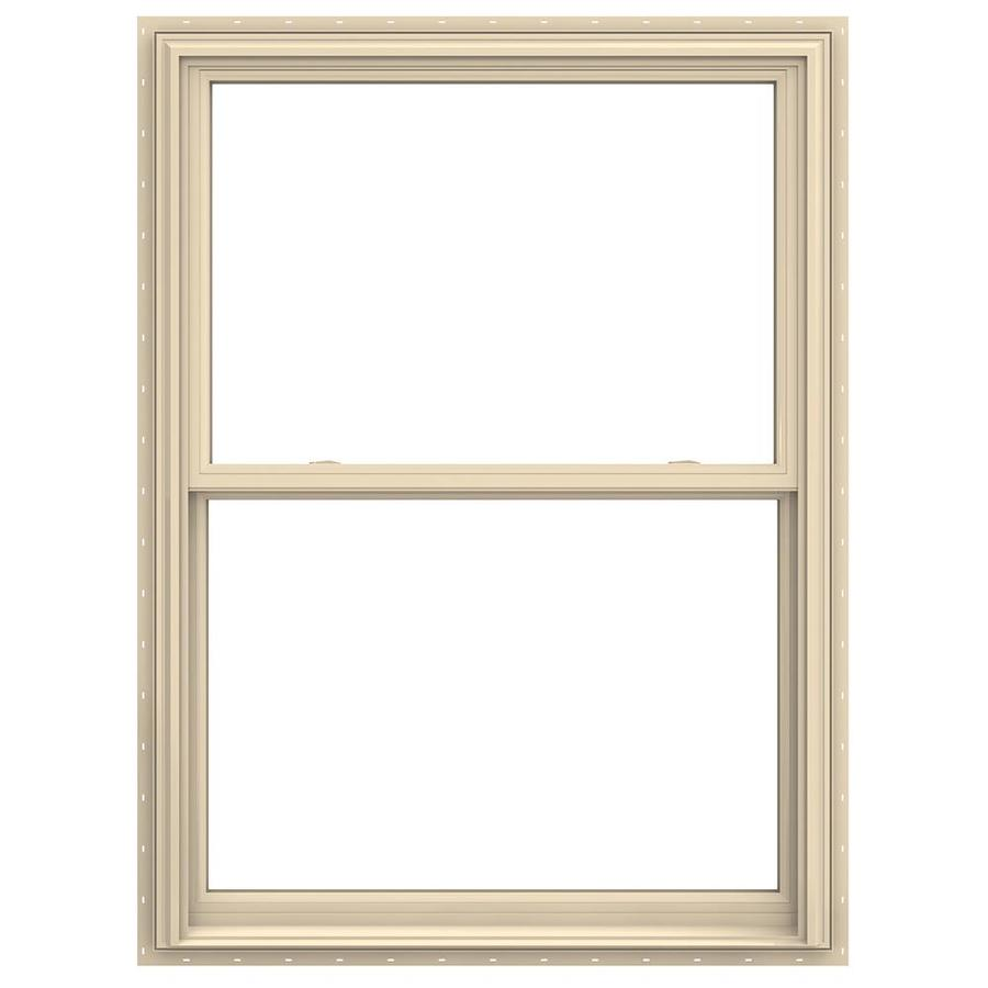 Shop jeld wen v 2500 vinyl double pane annealed double for 12x48 window
