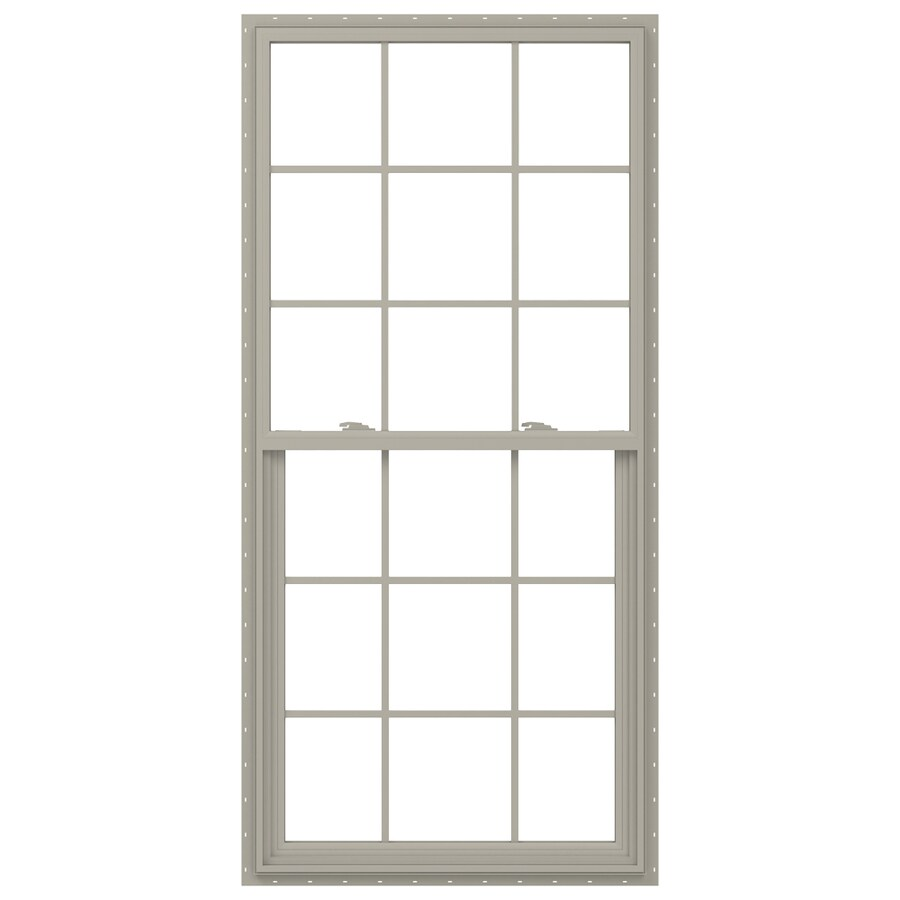 36 x 72 window glass jeldwen v2500 vinyl new construction desert sand exterior single hung window shop