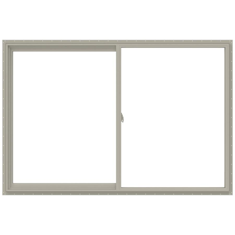 Shop jeld wen v 2500 left operable vinyl double pane for 12x48 window