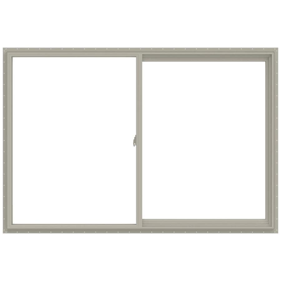 Shop jeld wen v 2500 right operable vinyl double pane for 12x48 window