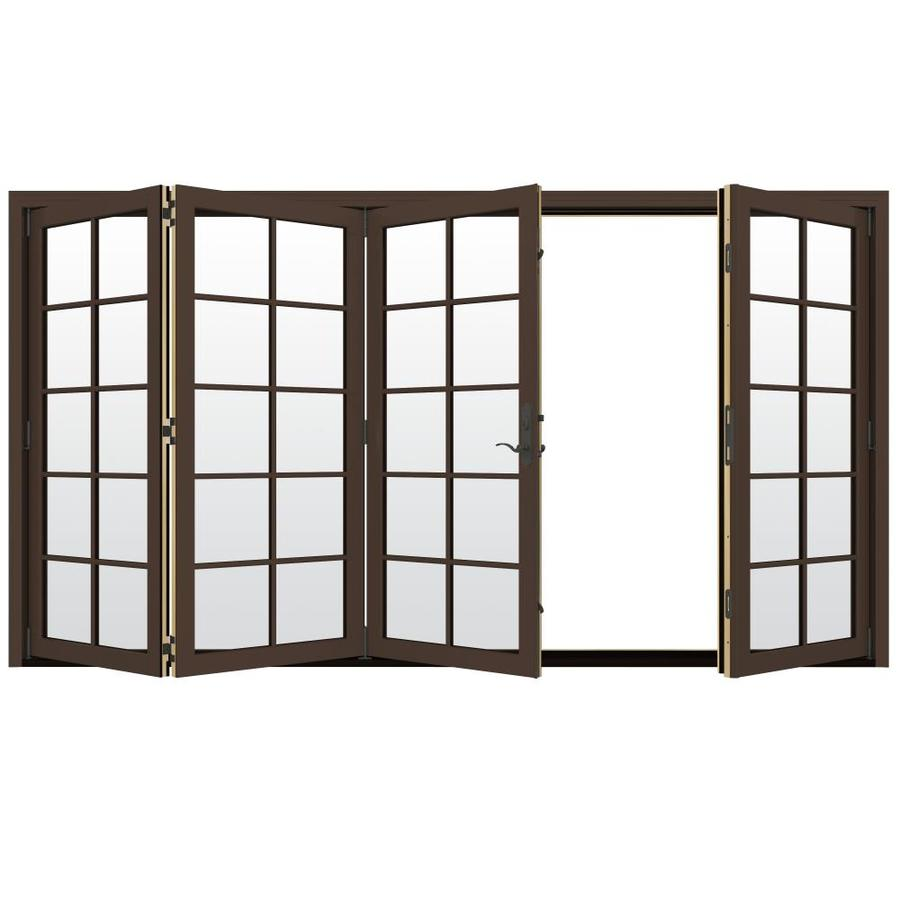 Shop JELD WEN W 4500 10 Lite Glass Dark