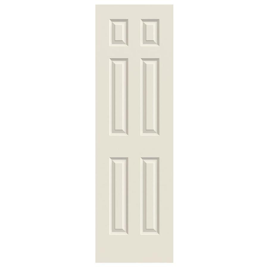 JELD-WEN Hollow Core 6-Panel Slab Interior Door (Common: 24-in x 80-in; Actual: 24-in x 80-in)