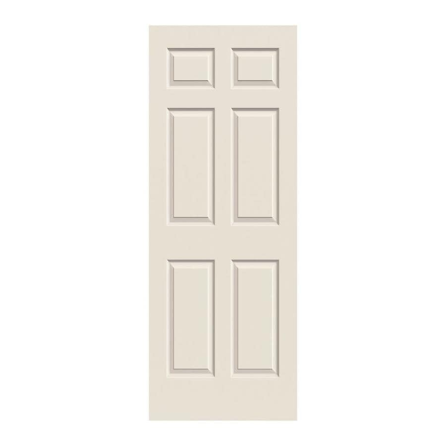 JELD-WEN 6-panel Slab Interior Door (Common: 30-in x 80-in; Actual: 30-in x 80-in)