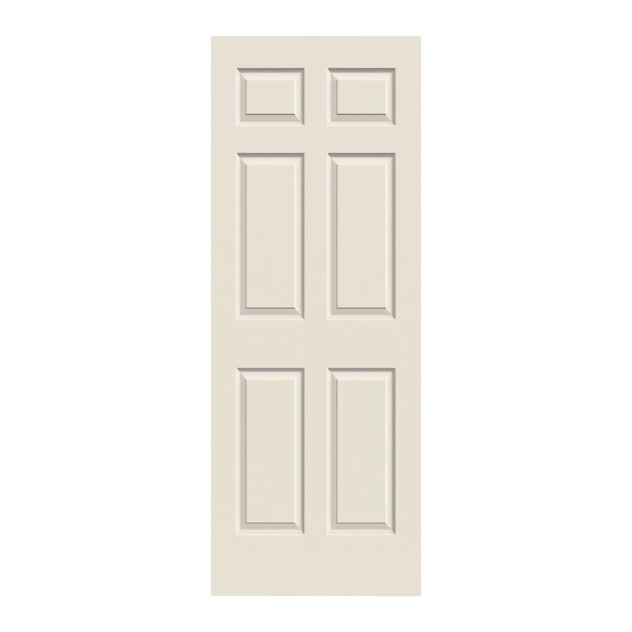 JELD-WEN Colonist Primed Hollow Core Molded Composite Slab Interior Door (Common: 32-in x 80-in; Actual: 32-in x 80-in)