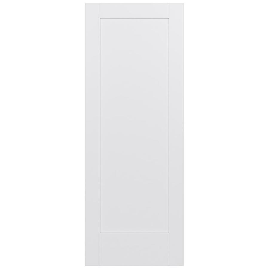 JELD-WEN Moda Solid Core 1-Panel Slab Interior Door (Common: 28-in x 80-in; Actual: 28-in x 80-in)