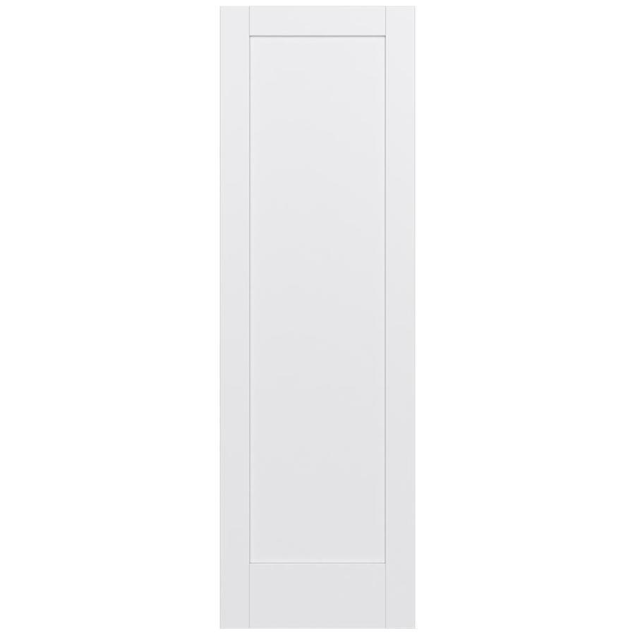 JELD-WEN Moda Solid Core 1-Panel Slab Interior Door (Common: 28-in x 96-in; Actual: 28-in x 96-in)