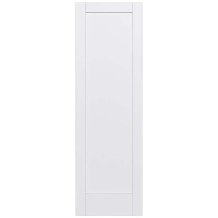 JELD-WEN Moda Solid Core 1-Panel Slab Interior Door (Common: 32-in x 96-in; Actual: 32-in x 96-in)