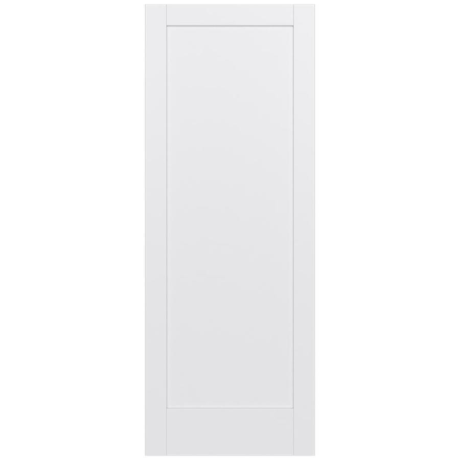 JELD-WEN MODA Primed Slab Interior Door (Common: 36-in x 96-in; Actual: 36-in x 96-in)