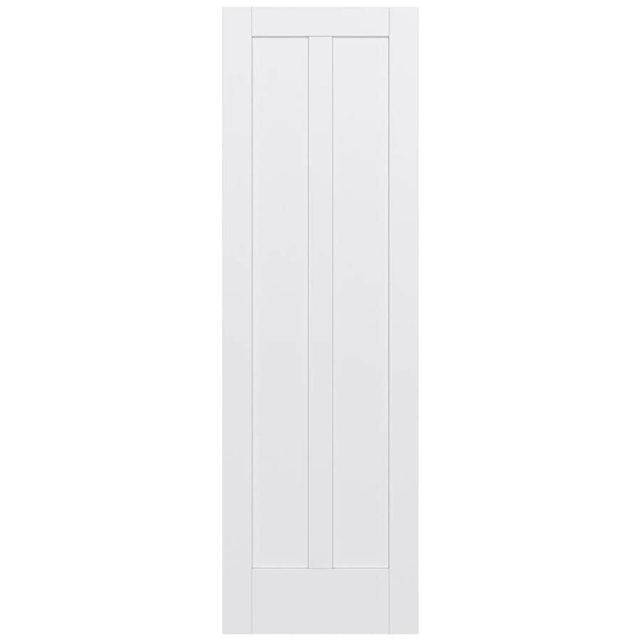 JELD-WEN Moda Solid Core 2-Panel Square Slab Interior Door (Common: 32-in x 96-in; Actual: 32-in x 96-in)
