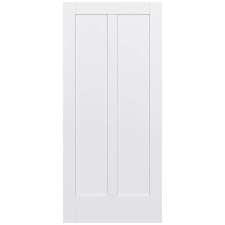 JELD-WEN MODA Primed Slab Interior Door (Common: 36-in x 80-in; Actual: 36-in x 80-in)